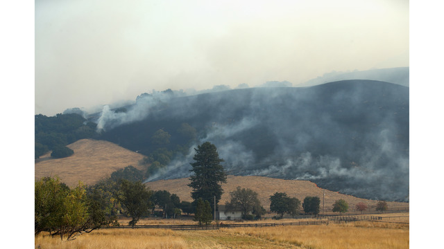 Multiple Wildfires Continue To Ravage Through California Wine Country_648468