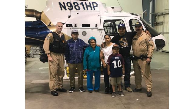 CHP officers reunite with family rescued from North Bay fire