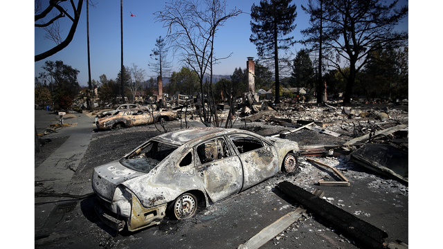 Multiple Wildfires Continue To Ravage California Wine Country_649374
