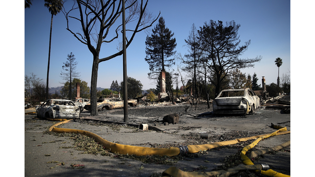 Multiple Wildfires Continue To Ravage California Wine Country_649375