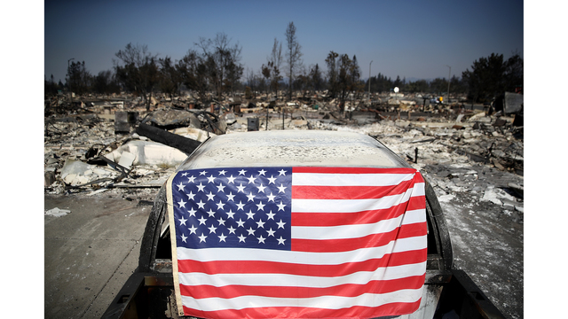 Multiple Wildfires Continue To Ravage California Wine Country_649376