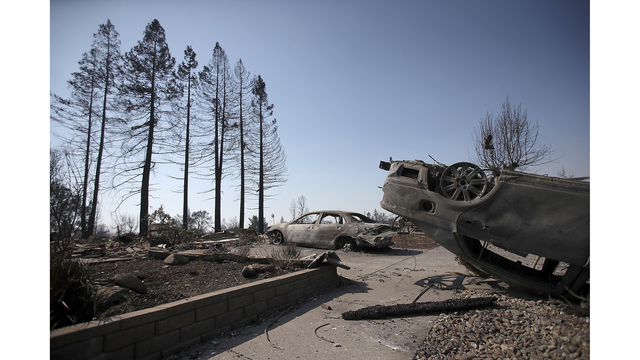 Multiple Wildfires Continue To Ravage California Wine Country_649379