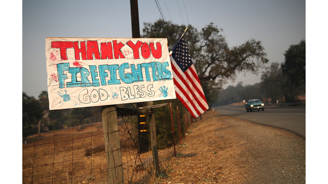 Multiple Wildfires Continue To Ravage California Wine Country_649381