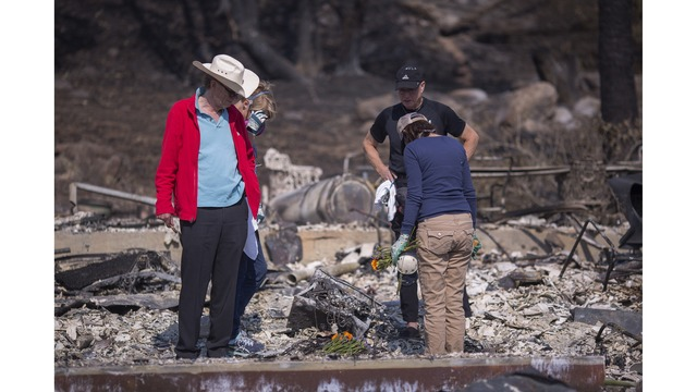 Multiple Wildfires Continue To Ravage Through California Wine Country_649380