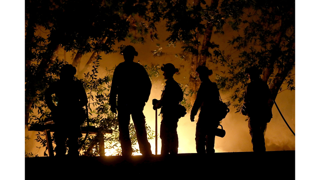 Multiple Wildfires Destroy Homes, Threaten California Wine Country_650002