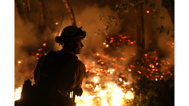 Multiple Wildfires Destroy Homes, Threaten California Wine Country_650007