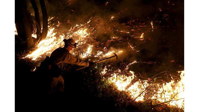 Multiple Wildfires Destroy Homes, Threaten California Wine Country_650009