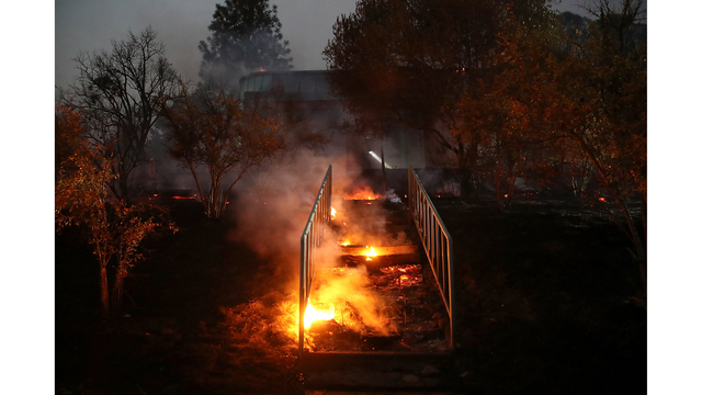 Multiple Wildfires Destroy Homes, Threaten California Wine Country_650010