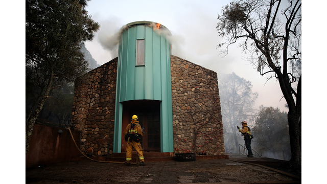 Multiple Wildfires Destroy Homes, Threaten California Wine Country_650016
