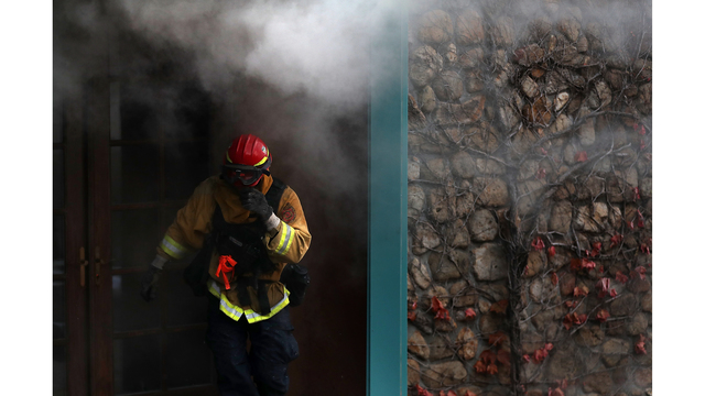 Multiple Wildfires Destroy Homes, Threaten California Wine Country_650020