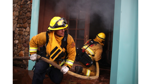 Multiple Wildfires Destroy Homes, Threaten California Wine Country_650017