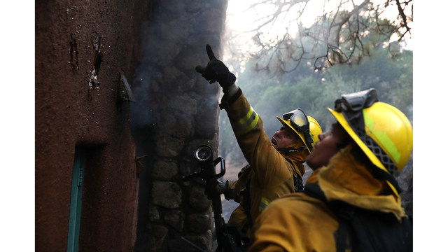 Multiple Wildfires Destroy Homes, Threaten California Wine Country_650018