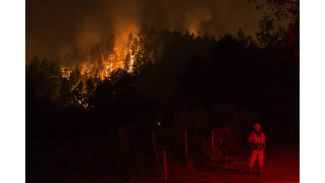 Multiple Wildfires Continue To Ravage Through California Wine Country_650012