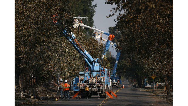 Multiple Wildfires Continue To Ravage California Wine Country_650000