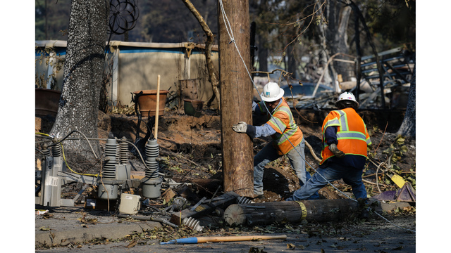 Multiple Wildfires Continue To Ravage California Wine Country_649999
