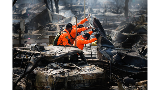 Multiple Wildfires Continue To Ravage California Wine Country_651679