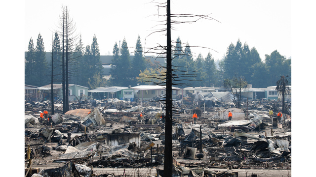Multiple Wildfires Continue To Ravage California Wine Country_651581