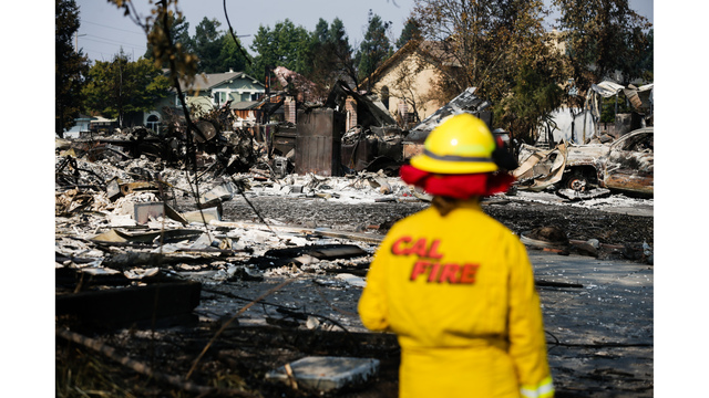 Multiple Wildfires Continue To Ravage California Wine Country_651680