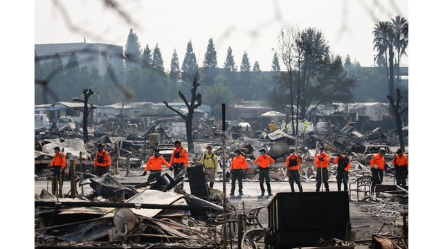 Multiple Wildfires Continue To Ravage California Wine Country_651681