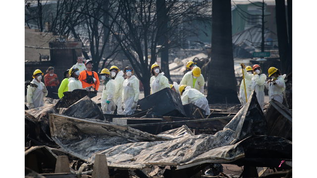 Multiple Wildfires Continue To Ravage California Wine Country_651582