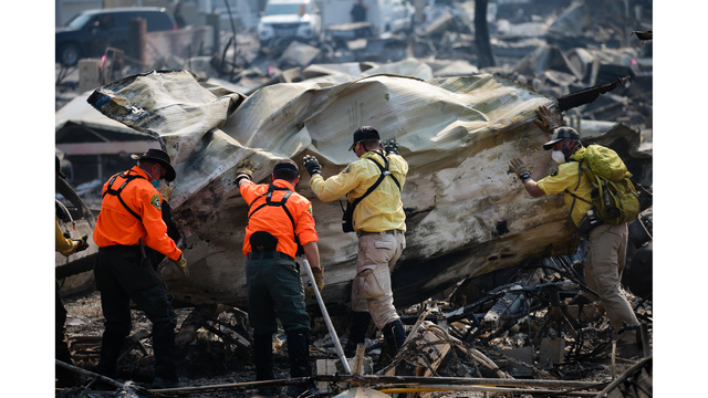 Multiple Wildfires Continue To Ravage California Wine Country_651583