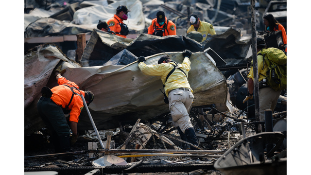 Multiple Wildfires Continue To Ravage California Wine Country_651584