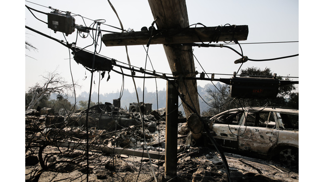 Multiple Wildfires Continue To Ravage California Wine Country_651586