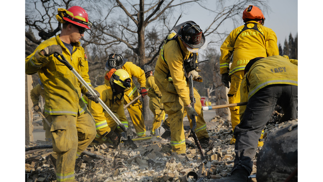 Multiple Wildfires Continue To Ravage California Wine Country_651687