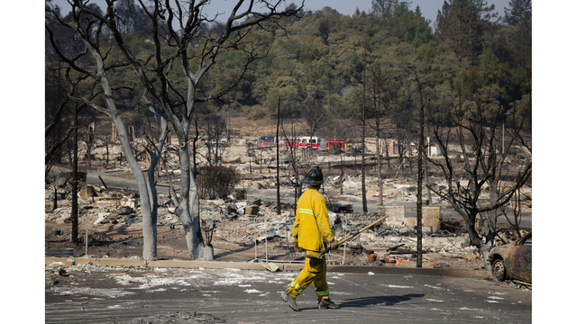 Multiple Wildfires Continue To Ravage California Wine Country_651589