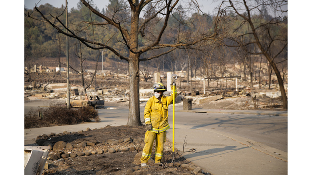 Multiple Wildfires Continue To Ravage California Wine Country_651590