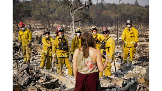 Multiple Wildfires Continue To Ravage California Wine Country_651592