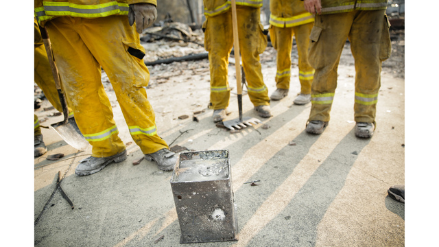Multiple Wildfires Continue To Ravage California Wine Country_651595