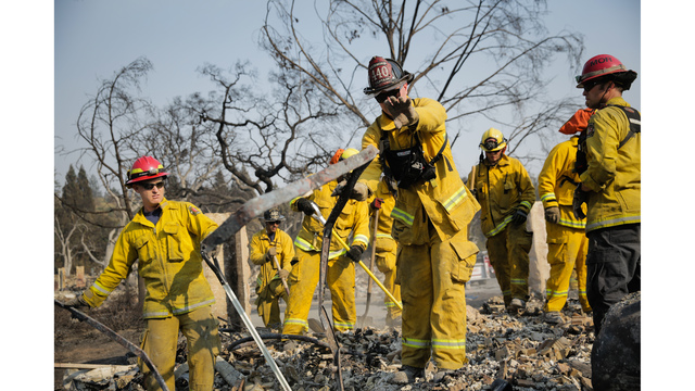 Multiple Wildfires Continue To Ravage California Wine Country_651594