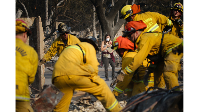 Multiple Wildfires Continue To Ravage California Wine Country_651596