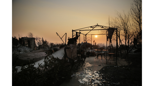 Multiple Wildfires Continue To Ravage California Wine Country_651597