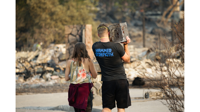Multiple Wildfires Continue To Ravage California Wine Country_651569