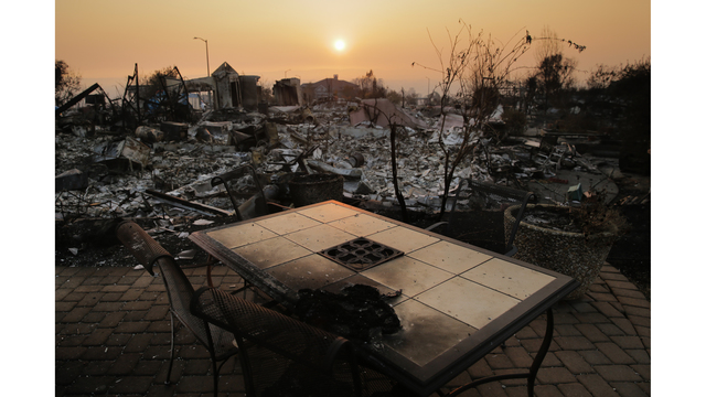 Multiple Wildfires Continue To Ravage California Wine Country_651599