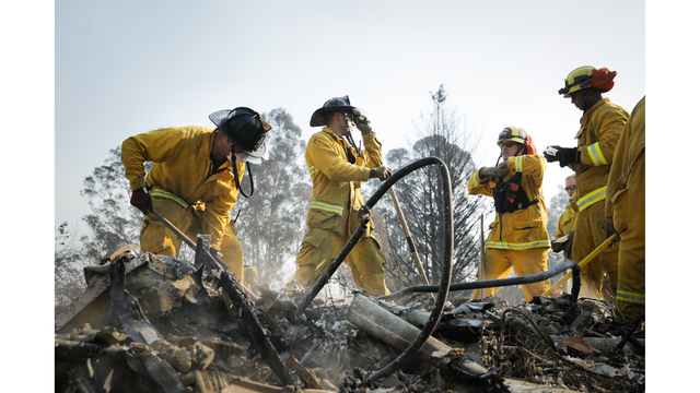 Multiple Wildfires Continue To Ravage California Wine Country_651601
