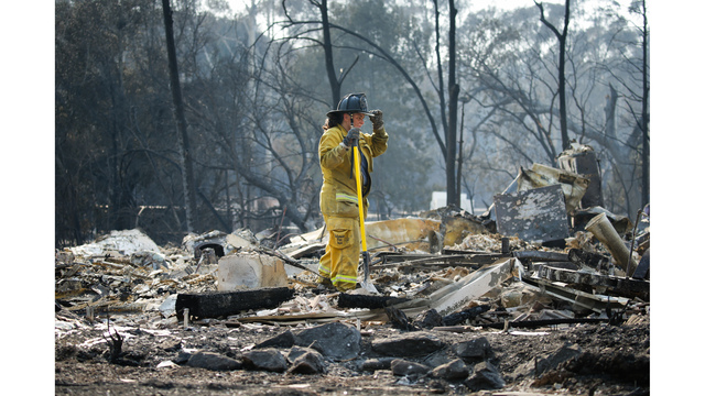 Multiple Wildfires Continue To Ravage California Wine Country_651602