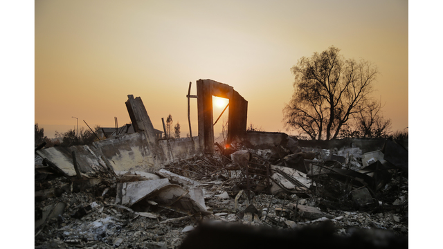 Multiple Wildfires Continue To Ravage California Wine Country_651603