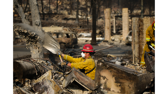 Multiple Wildfires Continue To Ravage California Wine Country_651604