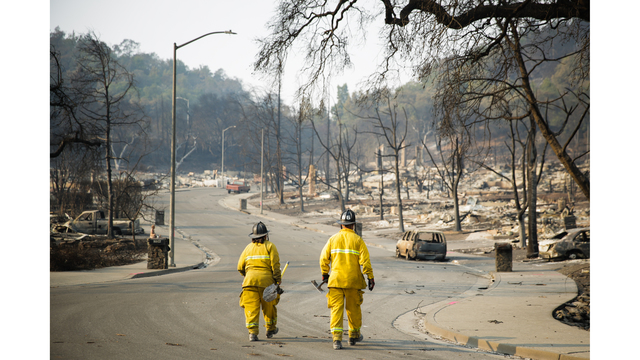 Multiple Wildfires Continue To Ravage California Wine Country_651605
