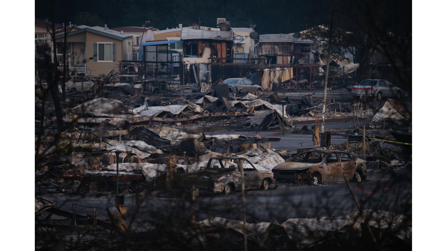 Multiple Wildfires Continue To Ravage California Wine Country_651577
