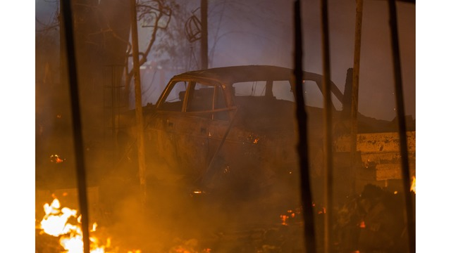 Multiple Wildfires Continue To Ravage Through California Wine Country_651580