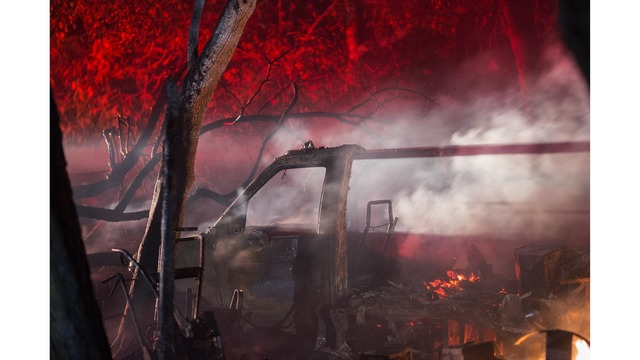 Multiple Wildfires Continue To Ravage Through California Wine Country_651611