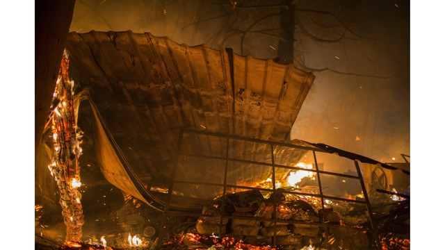 Multiple Wildfires Continue To Ravage Through California Wine Country_651612