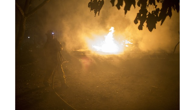 Multiple Wildfires Continue To Ravage Through California Wine Country_651610