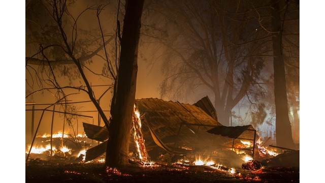 Multiple Wildfires Continue To Ravage Through California Wine Country_651613