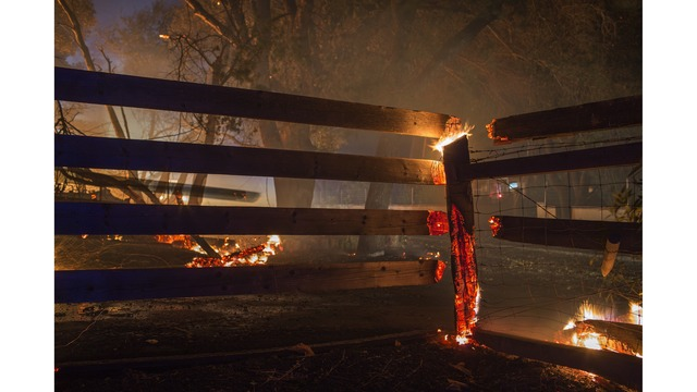 Multiple Wildfires Continue To Ravage Through California Wine Country_651614