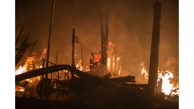 Multiple Wildfires Continue To Ravage Through California Wine Country_651617